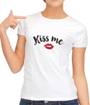 Unisex Kiss Me T-Shirt
