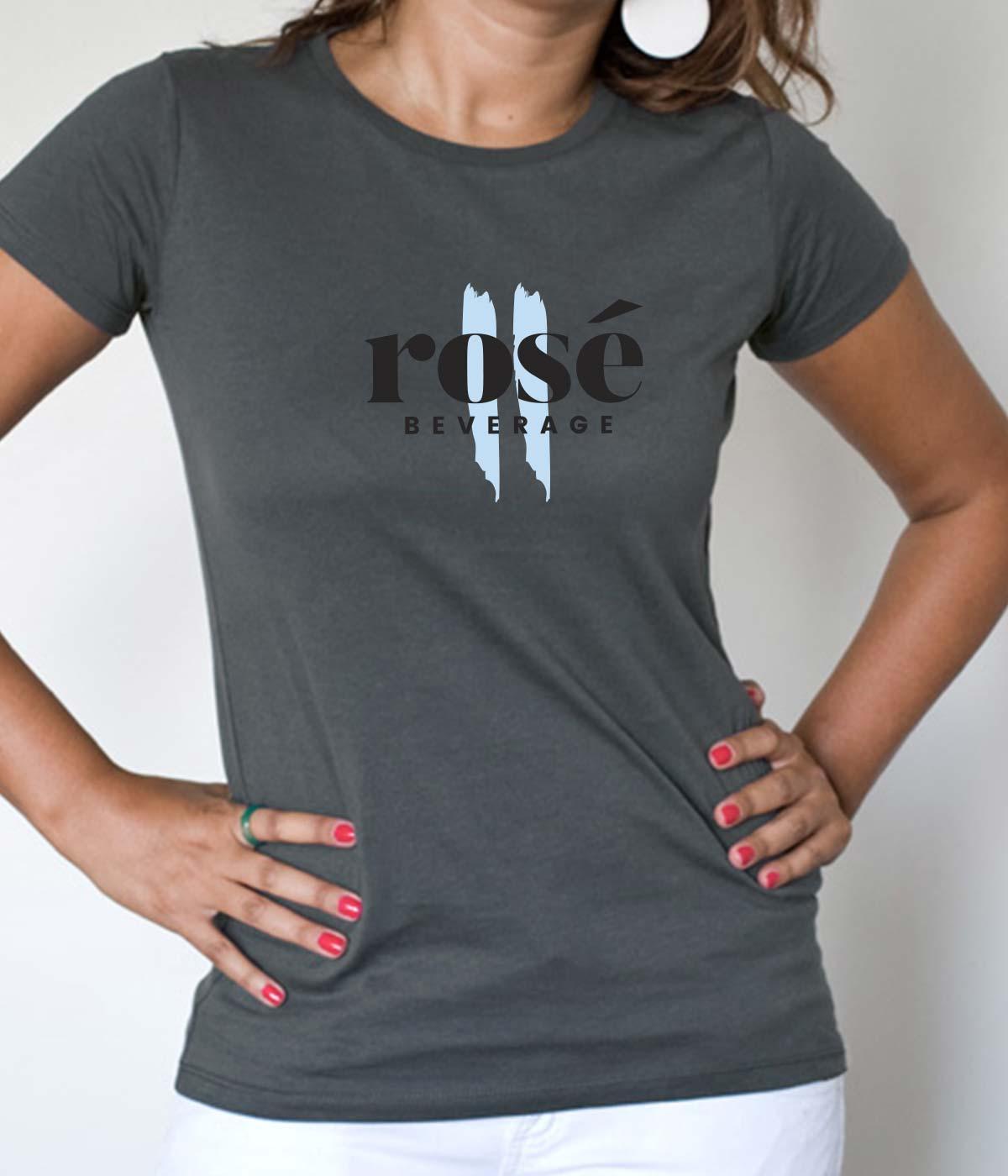 dc1c133e898f Unisex κοντομάνικο T-Shirt με στάμπα φιγούρα Rose.