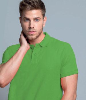 Μπλουζάκι Πόλο Αντρικό με τύπωμα του λογοτύπου σας