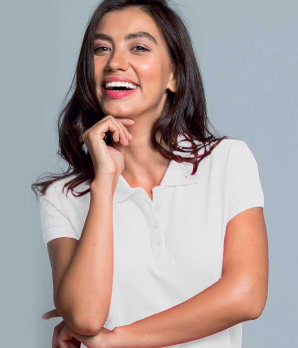 8f27b0ca940 Μπλουζάκι Πόλο Γυναικείο με τύπωμα του λογοτύπου σας