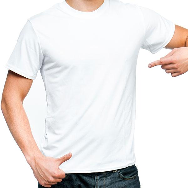 Μακό μπλουζάκι με τύπωμα η κέντημα